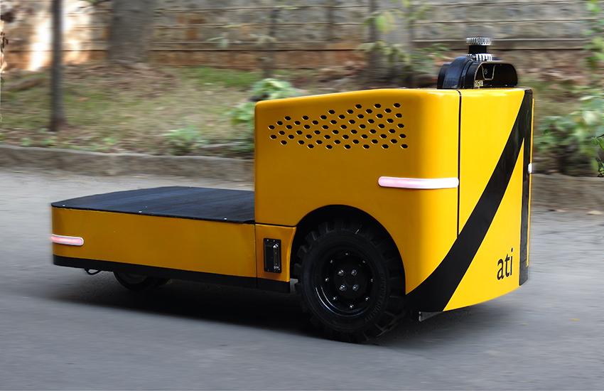 Autonomous Industrial Vehicle